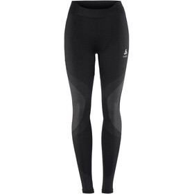 Odlo Suw Performance Warm Bottom Pants Women black-odlo concrete grey